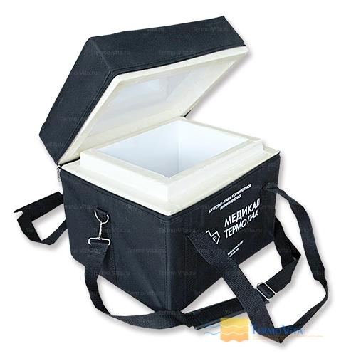 Термоконтейнер МТП-L10 в сумке-чехле, внутренняя отделка - влагостойкий картон
