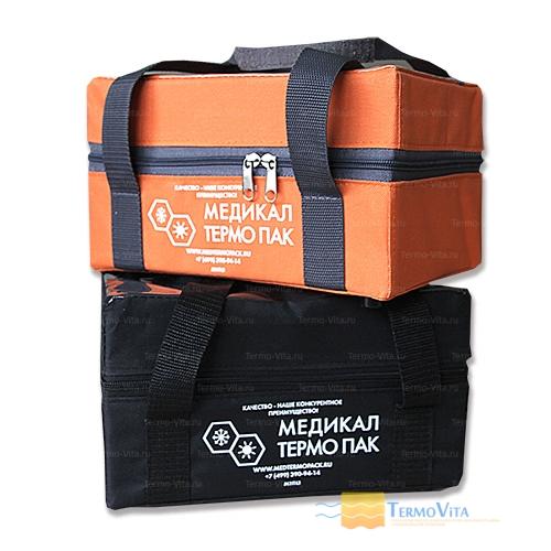 Термоконтейнер МТП-L1,1 в сумке-чехле, внутренняя отделка - пластик