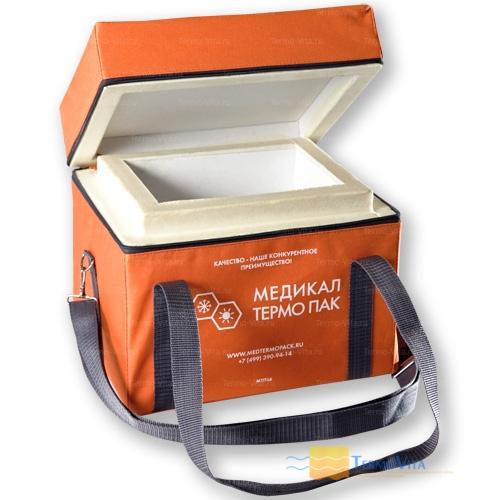 Термоконтейнер МТП-L6 в сумке-чехле, внутренняя отделка - пластик