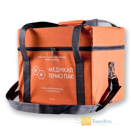 Термоконтейнер МТП-L6 в сумке-чехле, внутренняя отделка - влагостойкий картон