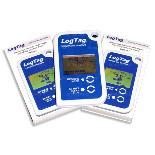 Термоиндикатор регистрирующий ЛогТэг ТРИД30-7Р (LogTag TRID30-7R), с поверкой
