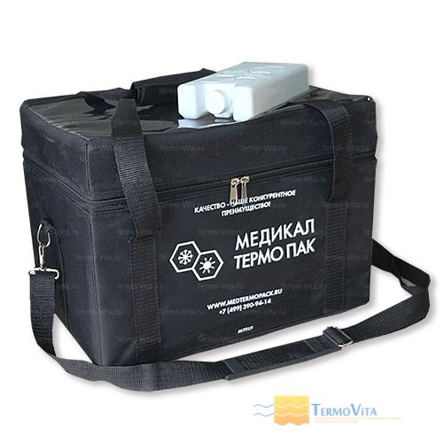 Термоконтейнер МТП-L9 в сумке-чехле, внутренняя отделка - влагостойкий картон
