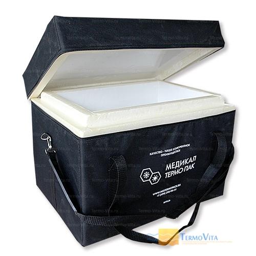 Термоконтейнер МТП-L20 в сумке-чехле, внутренняя отделка - влагостойкий картон