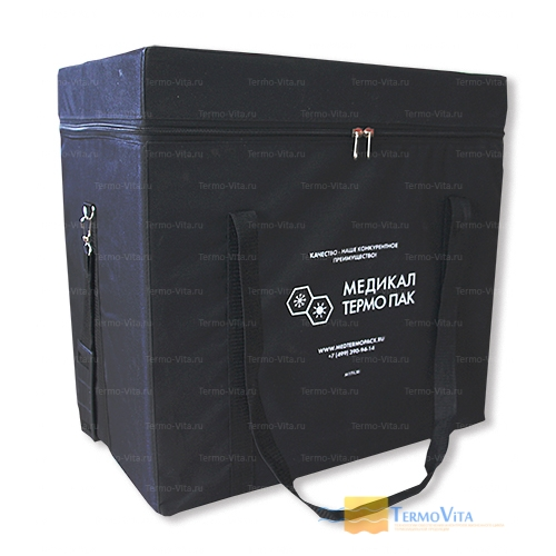 Термоконтейнер МТП-L30 в сумке-чехле, внутренняя отделка - пластик