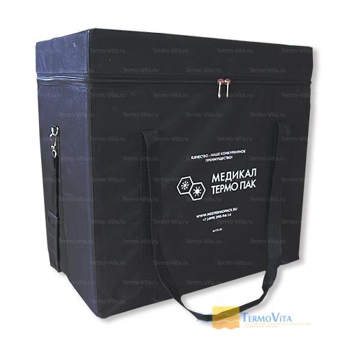 Термоконтейнер МТП-L30 в сумке-чехле, внутренняя отделка - влагостойкий картон