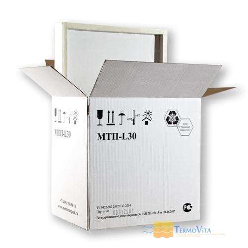 Термоконтейнер МТП-L30 в гофрокоробе, внутренняя отделка - пластик