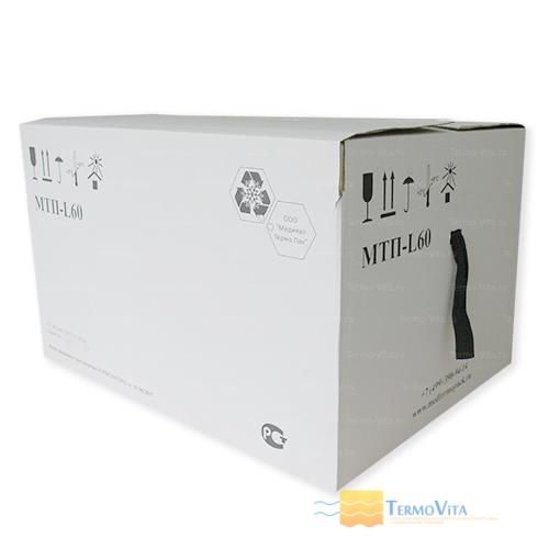 Термоконтейнер МТП-L60 в гофрокоробе, внутренняя отделка - пластик