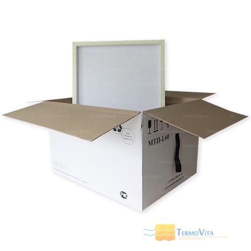 Термоконтейнер МТП-L60 в гофрокоробе, внутренняя отделка - влагостойкий картон