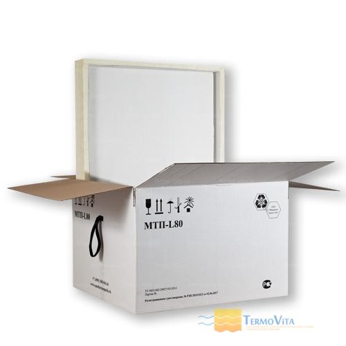 Термоконтейнер МТП-L80 в гофрокоробе, внутренняя отделка - влагостойкий картон