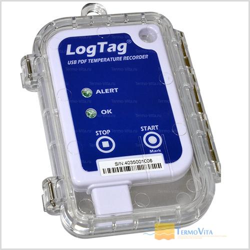 Термоиндикатор регистрирующий ЛогТэг ЮТРИКС-16 (LogTag UTRIX-16) многократного запуска, с поверкой