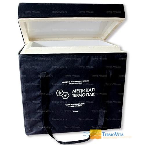 Термоконтейнер МТП-L40 в сумке-чехле, внутренняя отделка - пластик