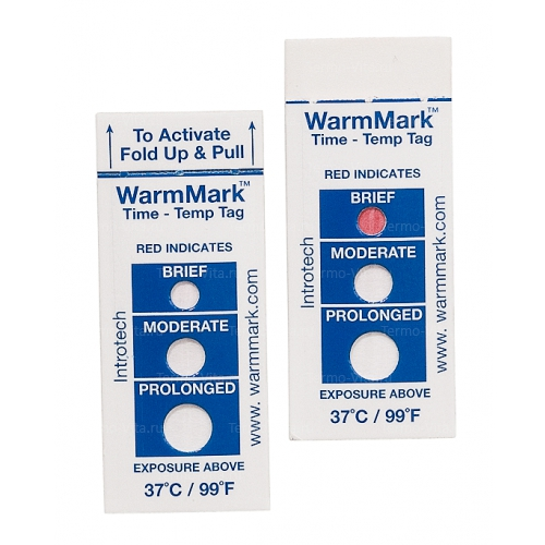 Термохимический индикатор ВомМарк (WarmMark™)